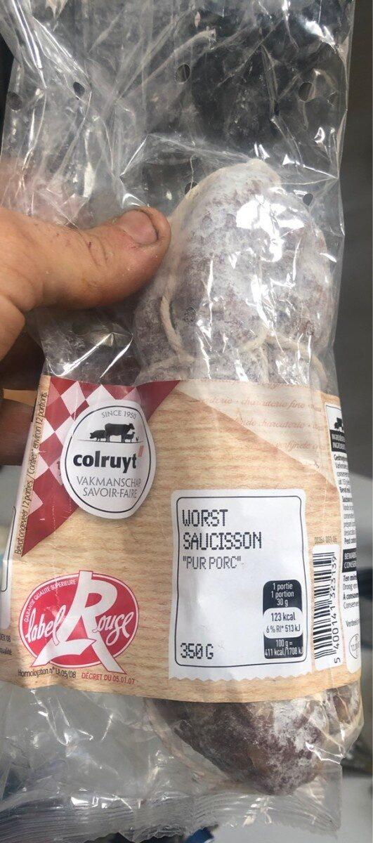 Saucisson pur porc - 产品 - fr
