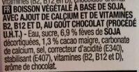 Boisson au soja - Ingrediënten - fr