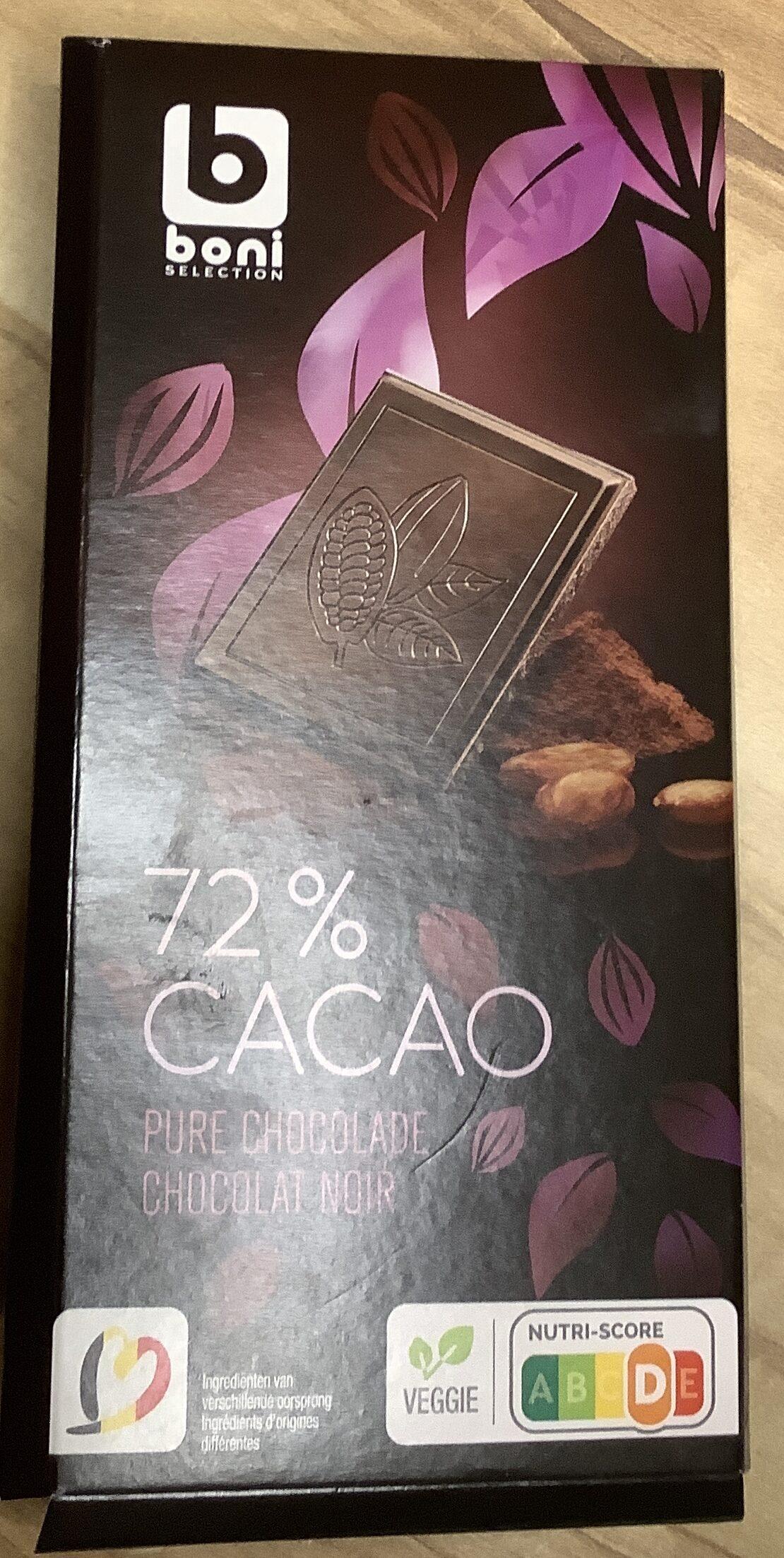 Chocolat noir 72% cacao - Product - nl