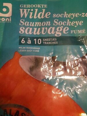Saumon fumé  sauvage - Product - fr