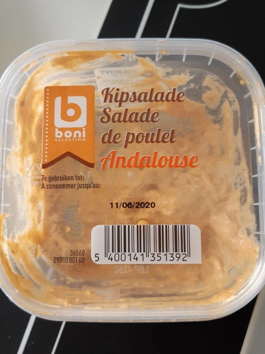 Salade de poulet andalouse Boni Colruyt - Product - fr