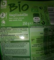 Tagliatelle - Produit