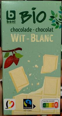 Chocolat blanc - Product - fr