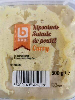 Salade de poulet Curry - Product - fr