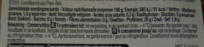 Crevettes grises - Voedingswaarden