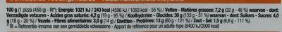 3 formaggi Emmental, Mozzarella, Cheddar - Voedingswaarden - fr