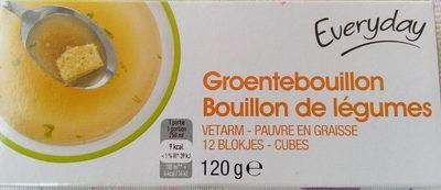 Cube bouillon de légumes - Product