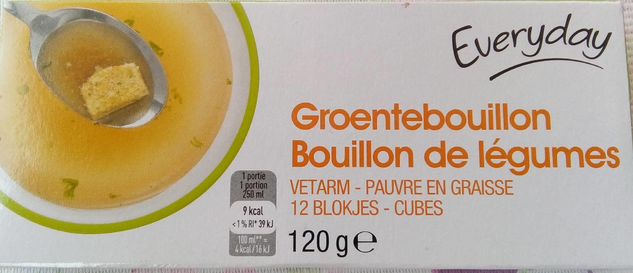 Cube bouillon de légumes - Product - fr