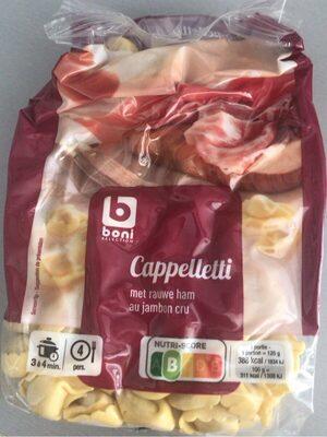 Capeletti jambon cru - Produit - fr