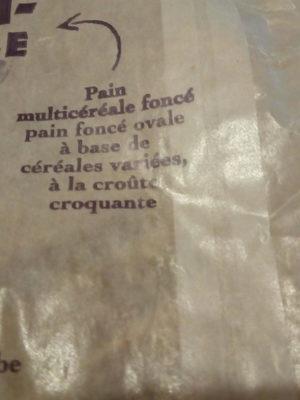 Pain multicereale foncé - Ingrediënten