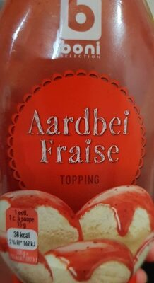 Topping fraise - Product - fr