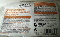Gosettes aux abricots - Product