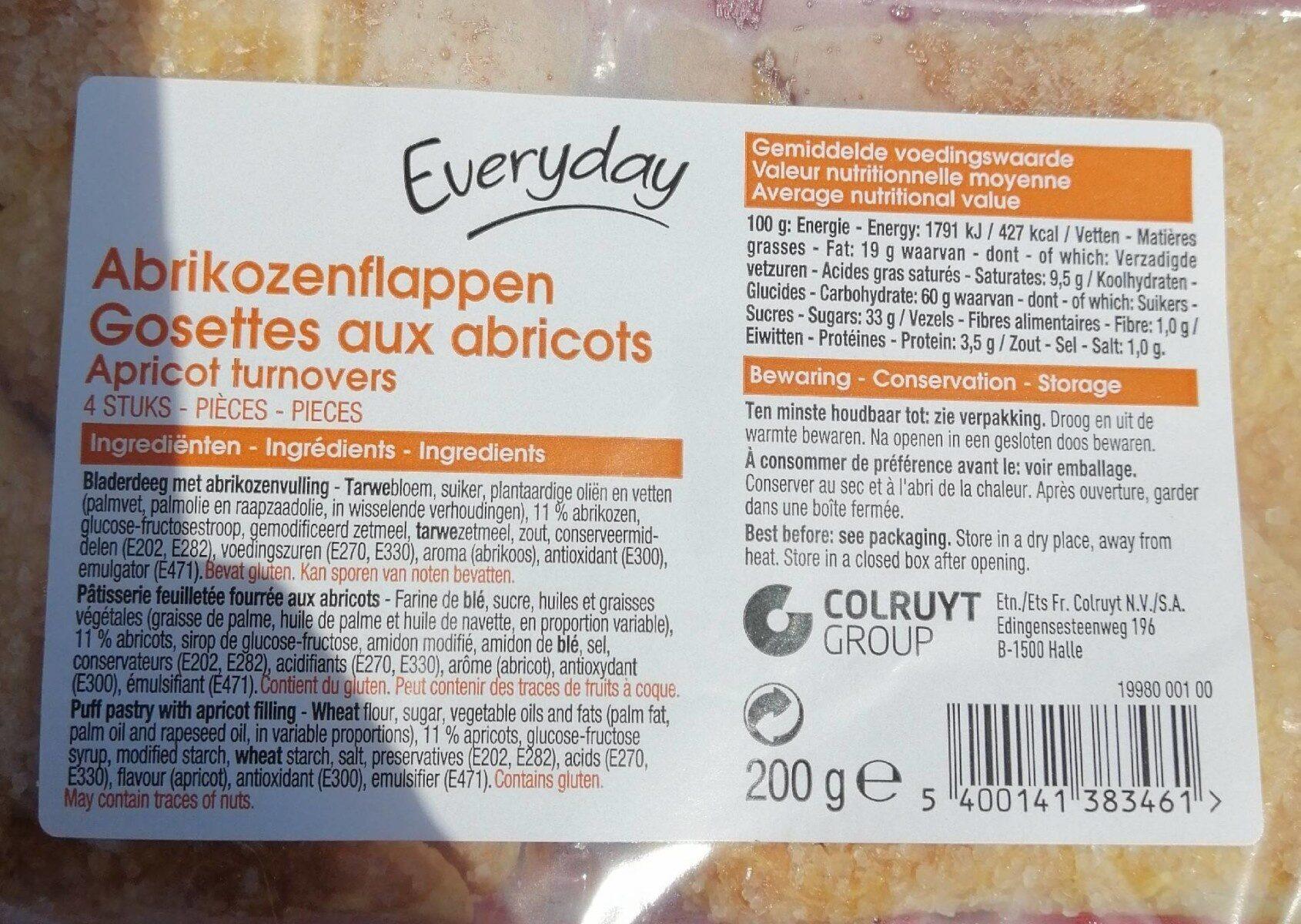 Gosettes aux abricots - Product - fr