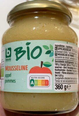 Mousseline pommes Bio - Product - fr