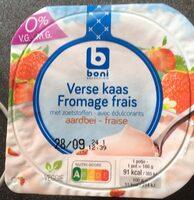 Boni verse kaas 0% V.G. - Product - fr