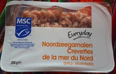 Crevettes grises de la mer du Nord décortiquées - Product