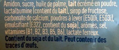 Biscuits pour bébés - Ingredients - fr