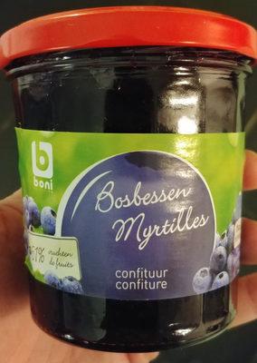 Confiture de myrtilles - Product - fr