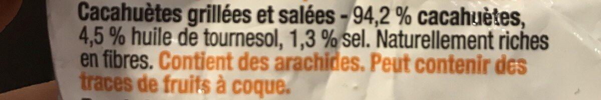Pinda's Cacahuetes - Ingredients