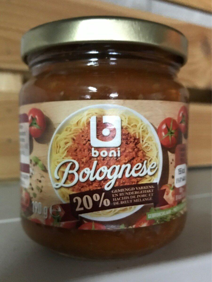 Bolognaise - Product