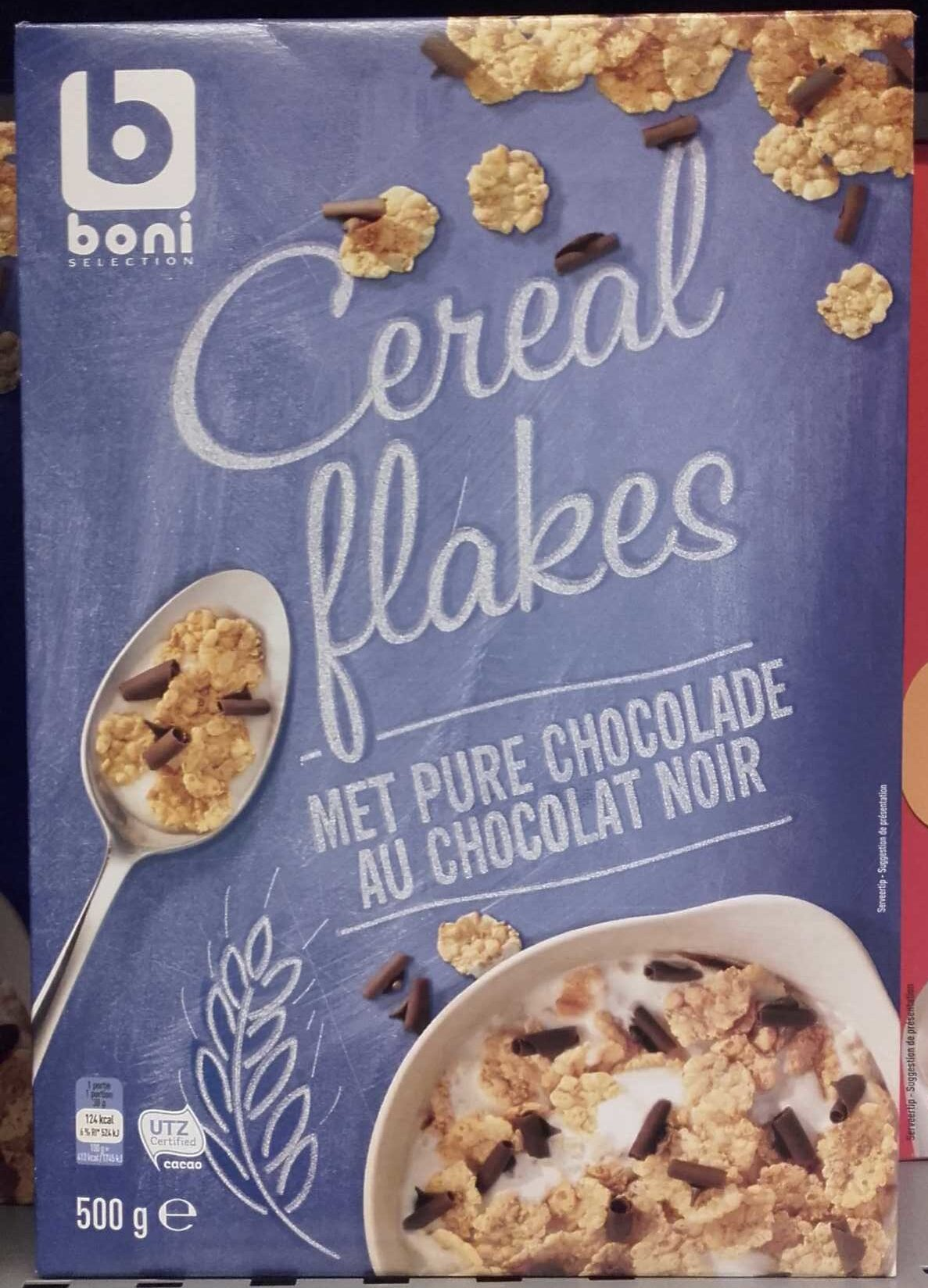 Cereal Flakes au chocolat noir - Product - fr