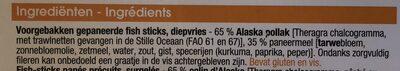 Fish sticks - Ingrediënten