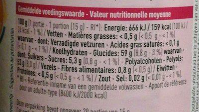 Confiture de cerises - Ingrediënten - fr