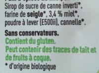 Couque au Miel - Ingrédients - fr