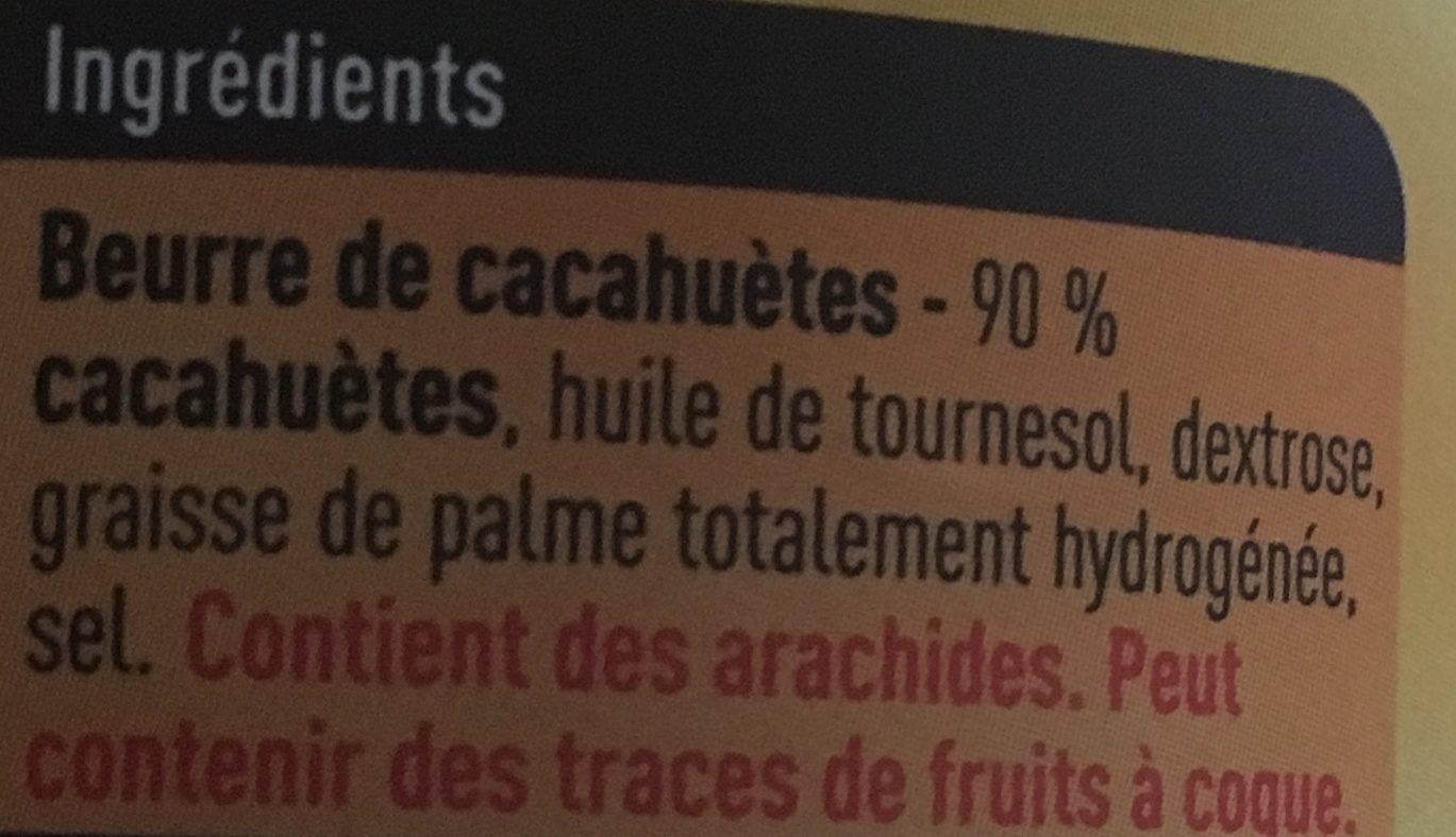 Beurre de cacahuètes - Ingrédients - fr