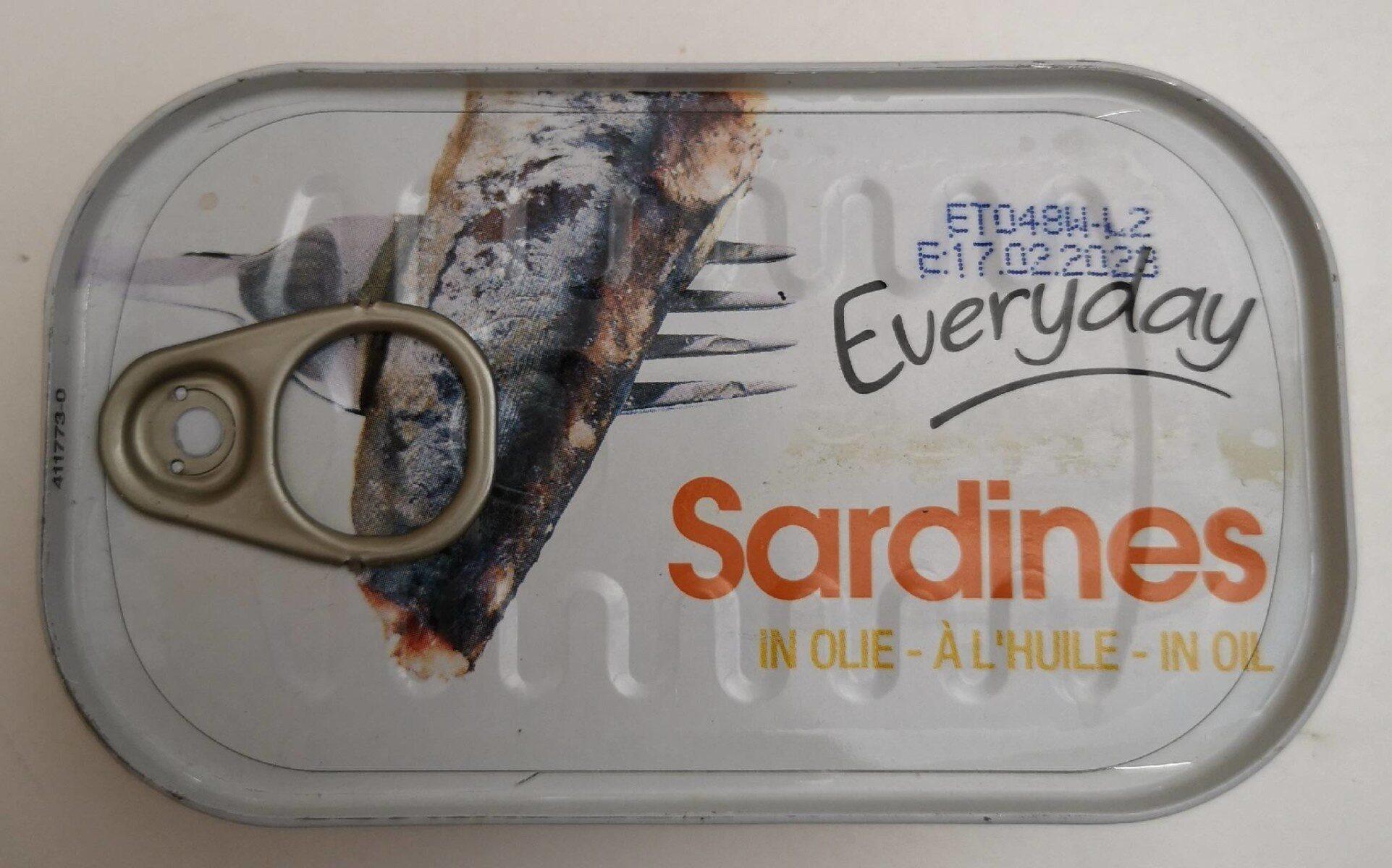 Sardines a l'huile - Produit