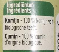 Cumin - Ingrediënten