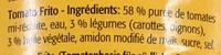 Base tomatée pour plats méditerranéens - Ingrédients