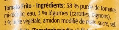 Base tomatée pour plats méditerranéens - Ingrediënten