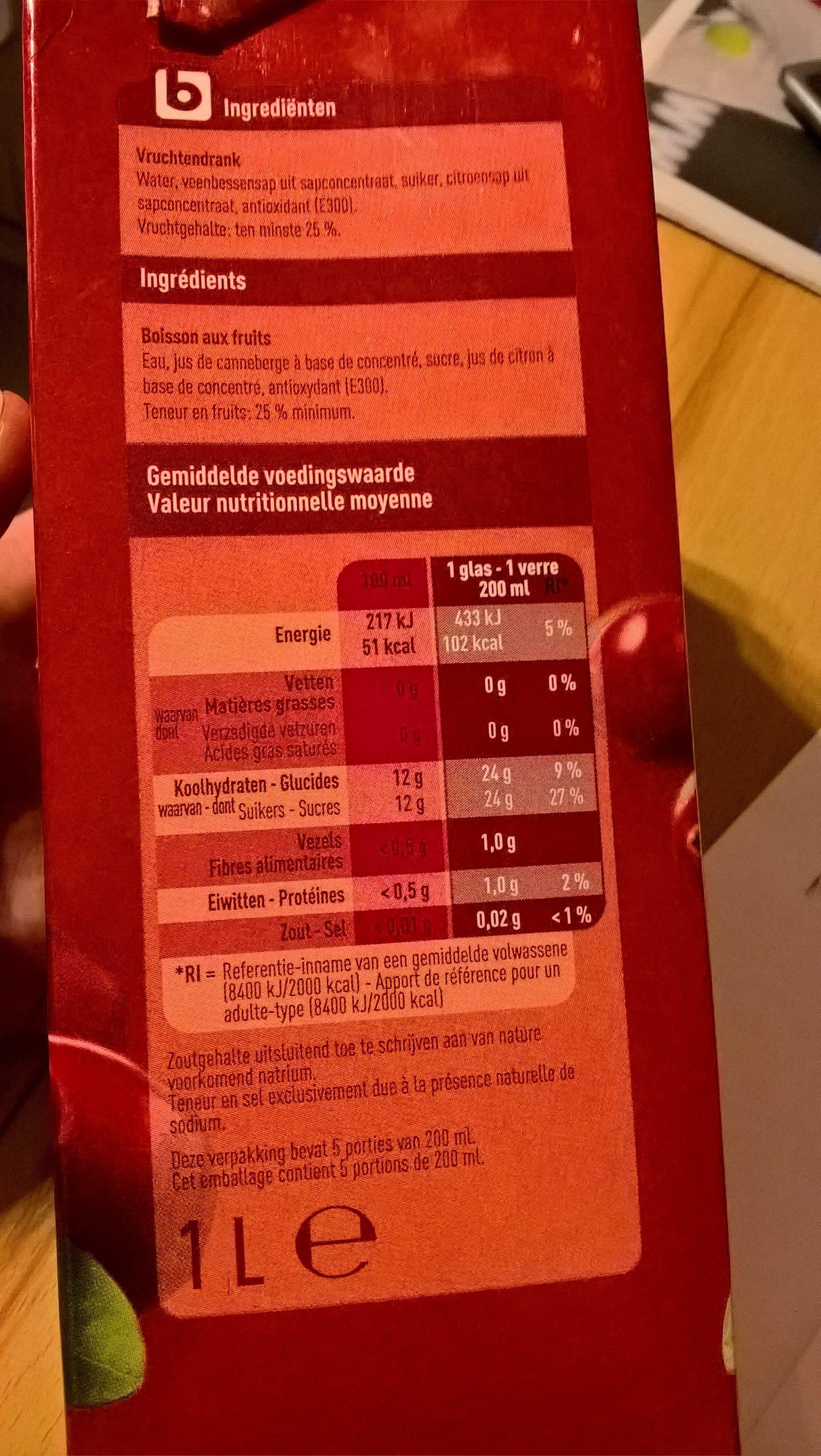 Boni cranberry - Product - nl