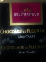mini tarte au chocolat - Produit - fr