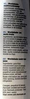 Oxfam world shake juice - Ingrediënten - fr