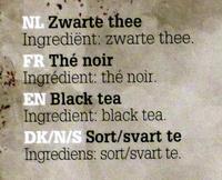 Oxfam Black Tea - Ingrediënten