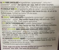 Original dark - Ingrédients