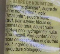 Nougat - Ingredients - fr