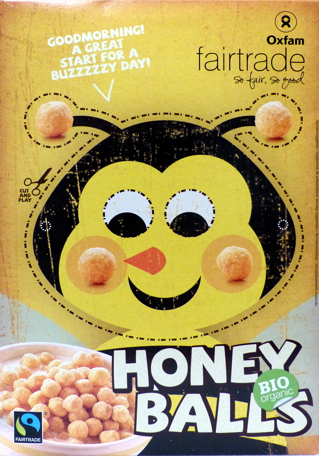 Oxfam Honey Balls - Product