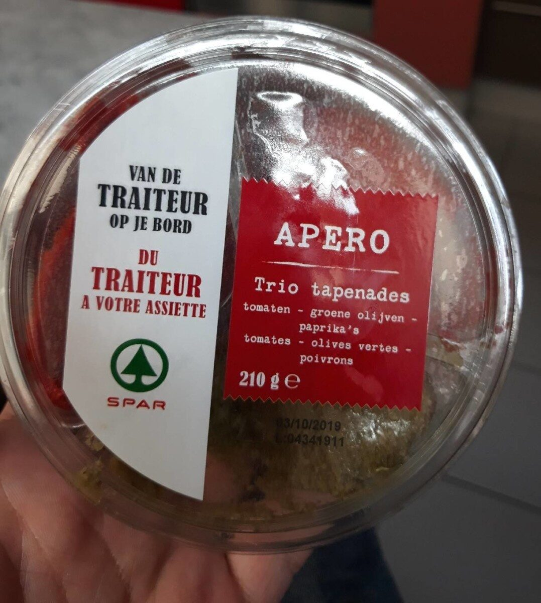 Trio tapenade - Product - fr