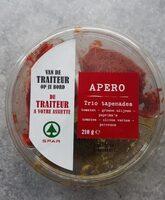 Trio tapenade - Voedingswaarden - fr