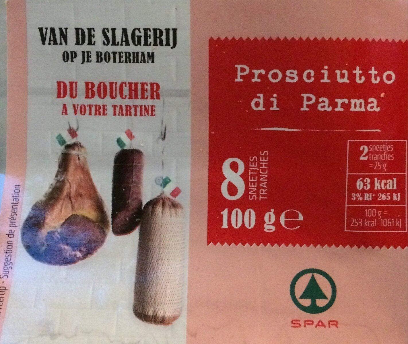Prosciutto di Parma - Product - fr
