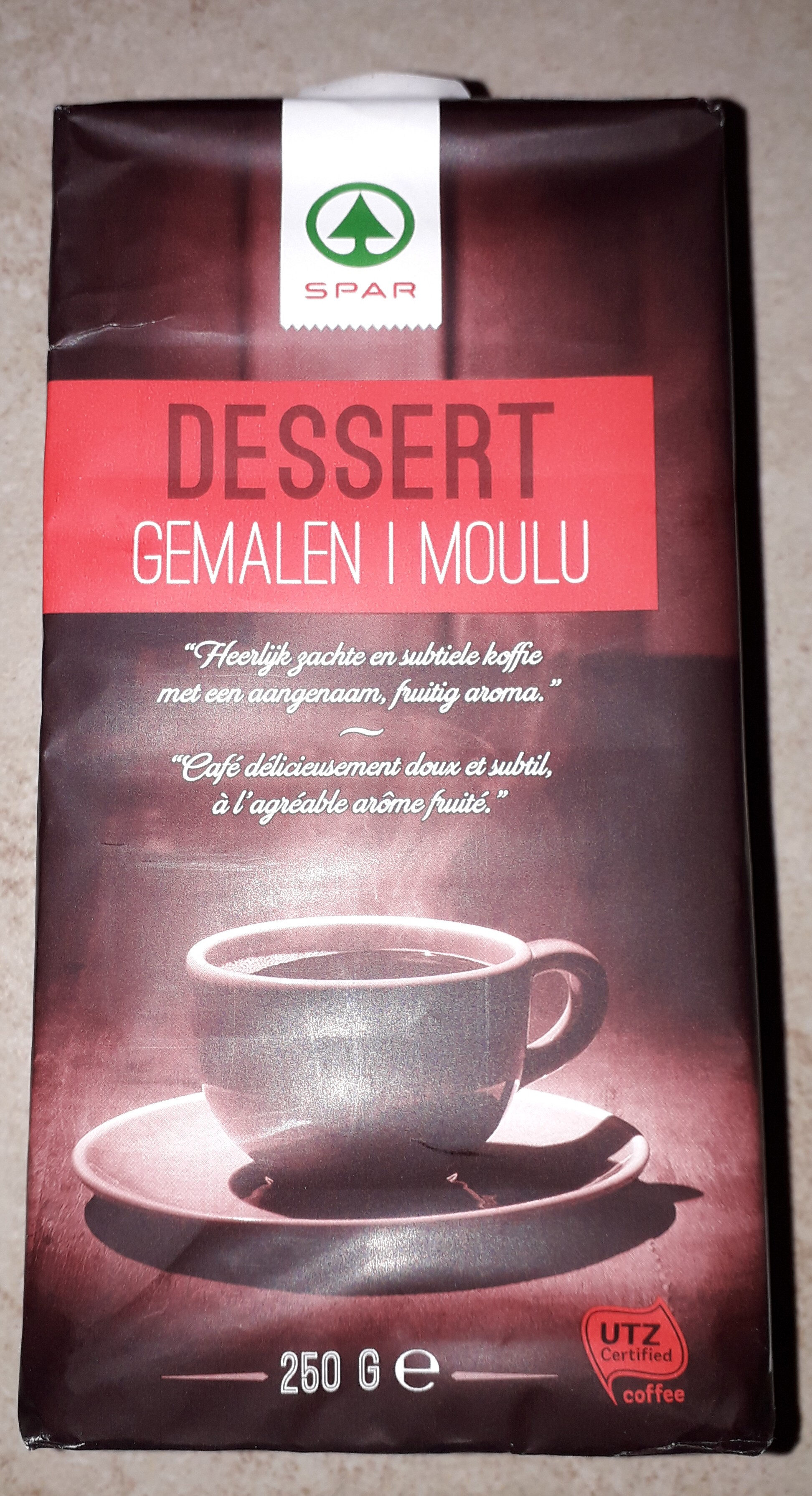 Dessert gemalen i moulu - Product - fr