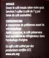 Dessert gemalen i moulu - Ingrediënten - fr