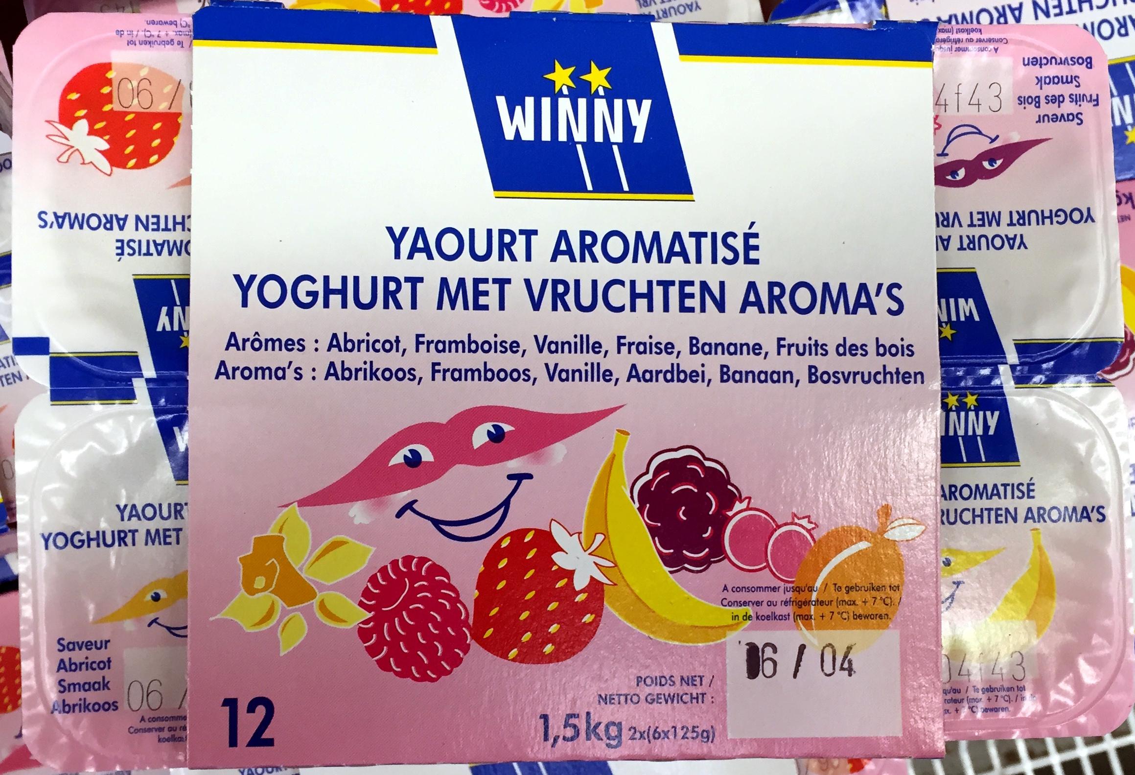Yaourt Aromatisé - Produit - fr