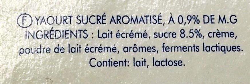 Yaourt Aromatisé - Ingrédients - fr