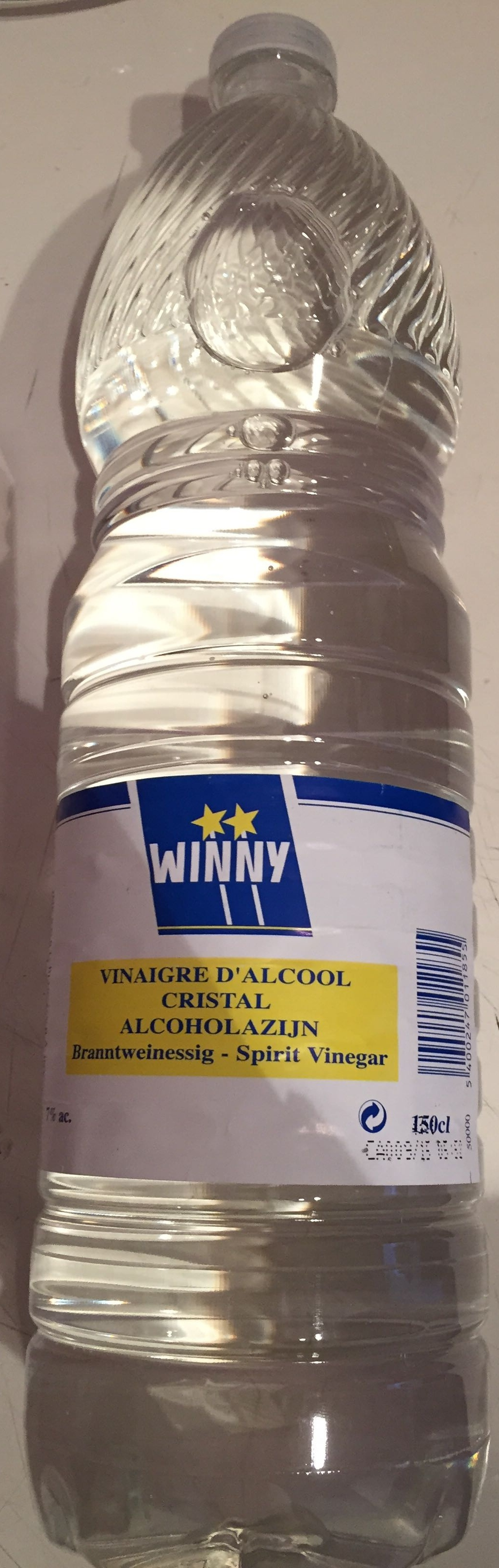 Vinaigre d'Alcool cristal (7% d'acidité) - Produit