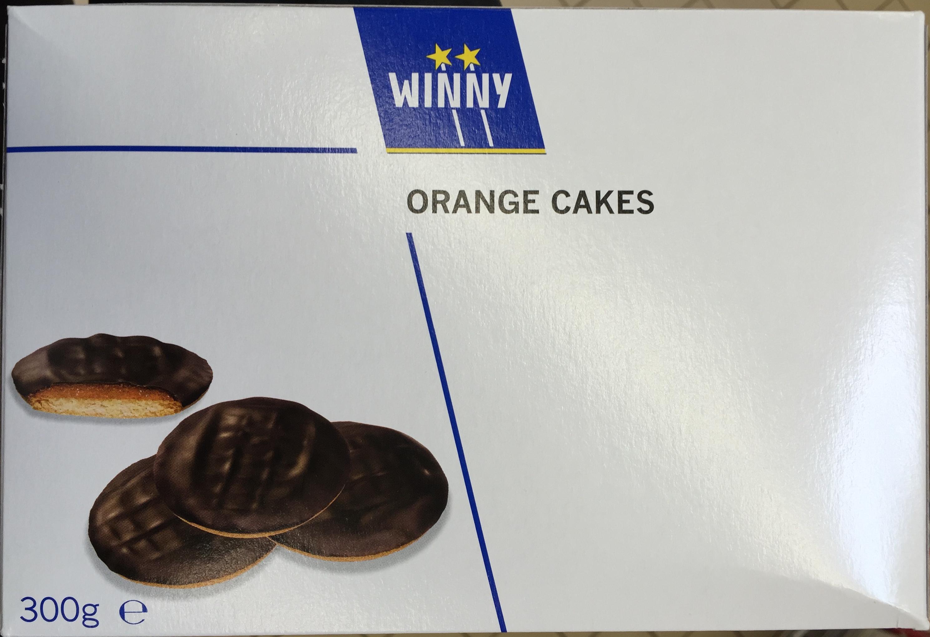 Orange Cakes - Product