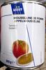 Mousseline de pomme tamisée - Product